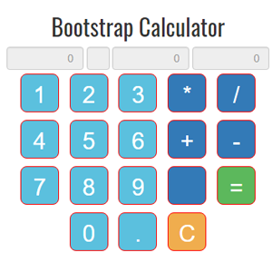 Bootstrap Calculator