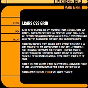 LCARS CSS Grid